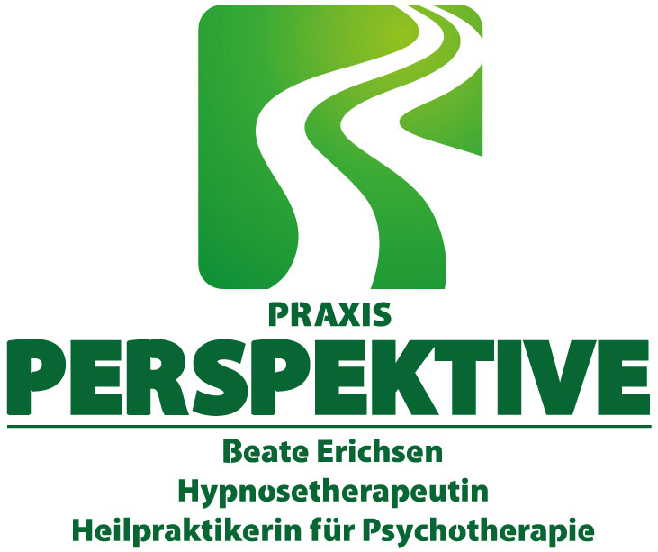 Logo der Hypnosepraxis in Freiburg Praxis Perspektive in grün