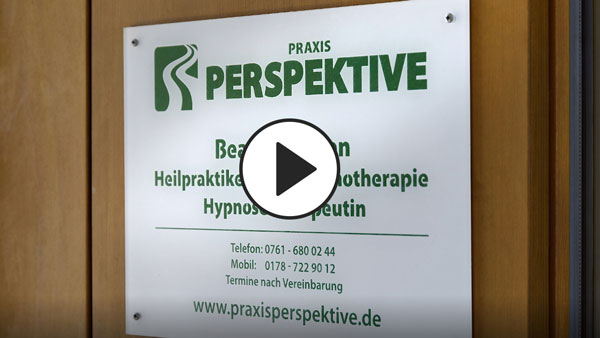 Screen zu Imagefilm Praxis Perspektive Hypnose Praxis Freiburg